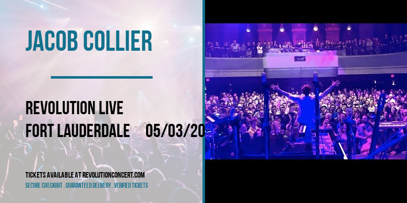 Jacob Collier [POSTPONED] at Revolution Live