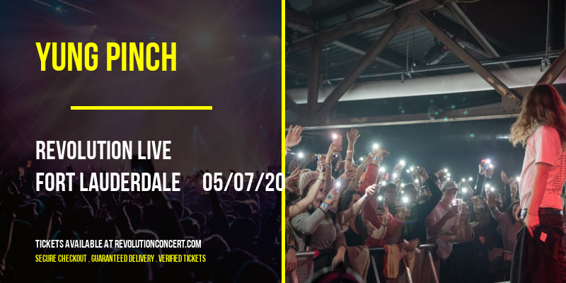 Yung Pinch [POSTPONED] at Revolution Live