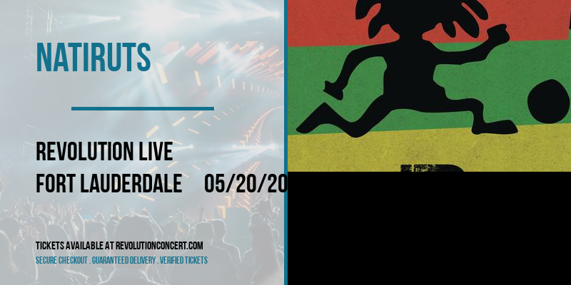 Natiruts [POSTPONED] at Revolution Live