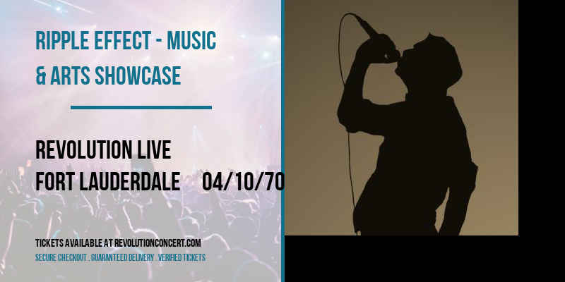 Ripple Effect - Music & Arts Showcase [POSTPONED] at Revolution Live