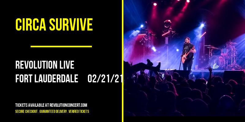 Circa Survive at Revolution Live