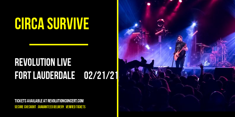 Circa Survive at Revolution Live