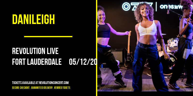 DaniLeigh [CANCELLED] at Revolution Live