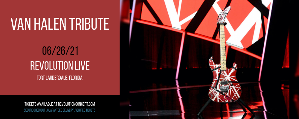 Van Halen Tribute at Revolution Live