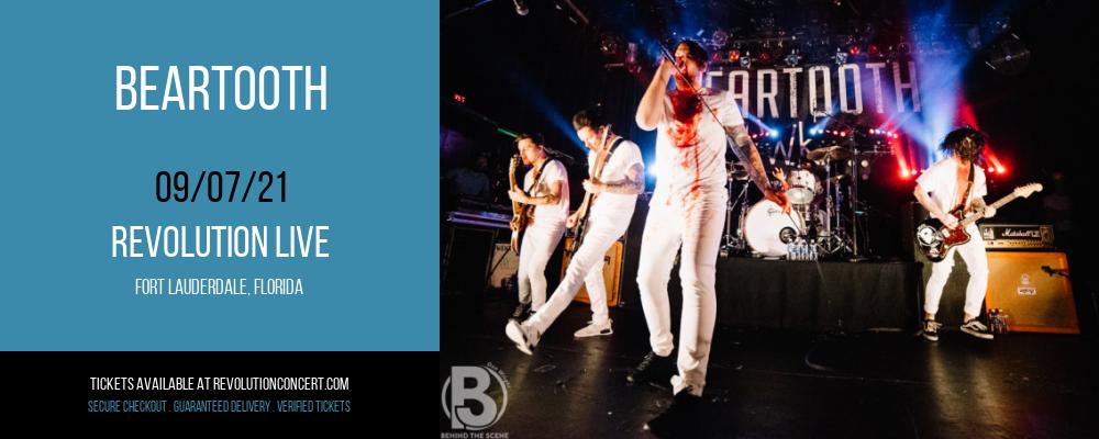 Beartooth at Revolution Live