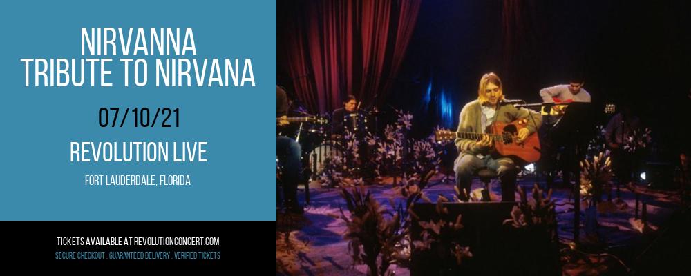 Nirvanna - Tribute to Nirvana at Revolution Live