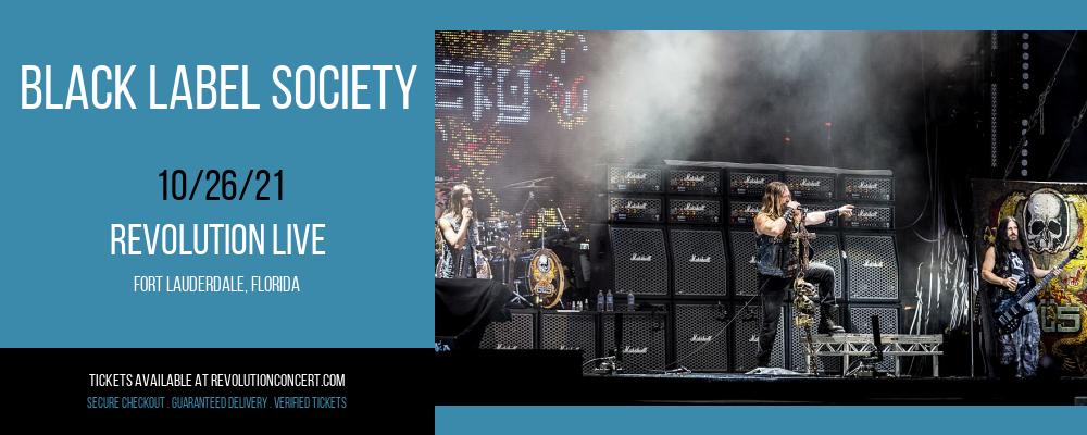 Black Label Society at Revolution Live