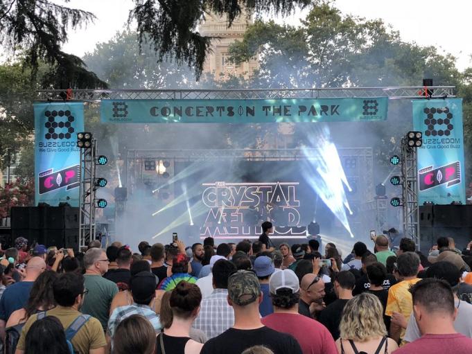 Crystal Method at Revolution Live