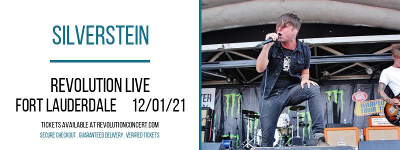 Silverstein at Revolution Live